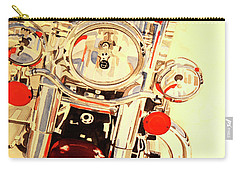 Born To Be Wild Carry-all Pouch by Cynthia Powell
