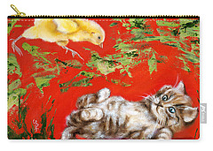 Carry-all Pouch featuring the painting Born To Be Wild by Hiroko Sakai