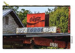 Carry-all Pouch featuring the photograph Bo's Grocery by Doug Camara