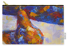 Bosc Pear Mosaic Carry-all Pouch