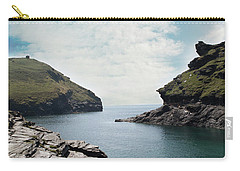 Carry-all Pouch featuring the photograph Boscastle Cornwall by Rebecca Cozart