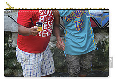 Carry-all Pouch featuring the photograph Bosen Bros by Jez C Self