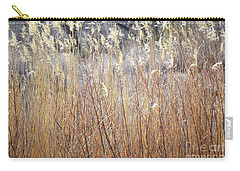 Carry-all Pouch featuring the photograph Bosque Desert Willows by Andrea Hazel Ihlefeld