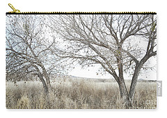 Carry-all Pouch featuring the photograph Bosque Dreamy Tree Field by Andrea Hazel Ihlefeld