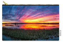 Bosque Sunrise Carry-all Pouch by Kristal Kraft