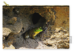 Carry-all Pouch featuring the photograph Boss Frog by Al Powell Photography USA