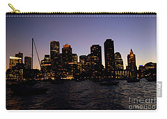Boston At Night Carry-all Pouch