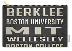 Boston Collegetown Carry-all Pouch by Edward Fielding