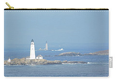 Boston Harbor Lighthouses Carry-all Pouch