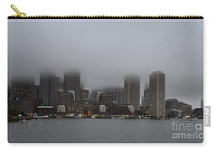 Boston In The Fog Carry-all Pouch