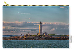 Boston Lighthouse Sunset Carry-all Pouch