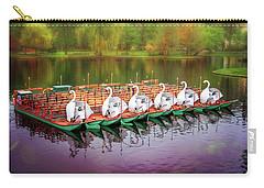 Boston Public Garden Swan Boats  Carry-all Pouch