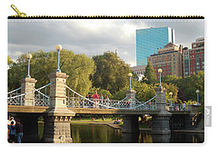 Boston Publik Garden Carry-all Pouch by James Kirkikis