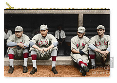 Carry-all Pouch featuring the photograph Boston Red Sox by Granger