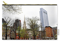 Boston Skyline From The Common Carry-all Pouch