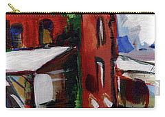 Bostwick Cotton Gin Carry-all Pouch by John Jr Gholson
