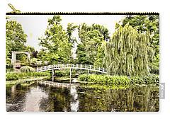Botanical Bridge - Monet Carry-all Pouch