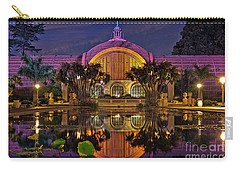 Botanical Building At Night In Balboa Park Carry-all Pouch