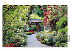 Carry-all Pouch featuring the photograph Botanical Garden by Elf Evans
