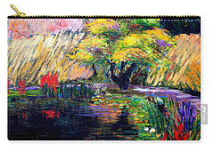 Botanical Garden In Lund Sweden Carry-all Pouch