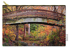 Botanical Gardens Arched Bridge Asheville During Fall Carry-all Pouch