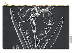 Botanique 1 Carry-all Pouch by Debbie DeWitt
