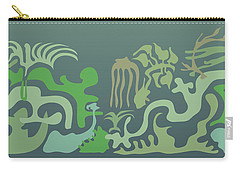 Botaniscribble Carry-all Pouch by Kevin McLaughlin