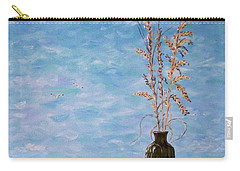 Bottle And Sea Oats Carry-all Pouch
