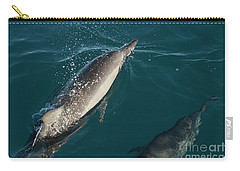 Bottle Nose Dolphin Carry-all Pouch