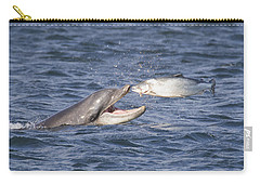 Bottlenose Dolphin Eating Salmon - Scotland  #36 Carry-all Pouch