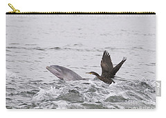 Baby Bottlenose Dolphin - Scotland #10 Carry-all Pouch