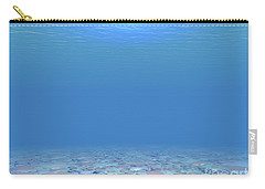 Carry-all Pouch featuring the digital art Bottom Of The Sea by Phil Perkins