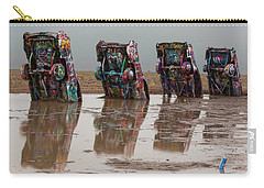 Carry-all Pouch featuring the photograph Bottoms Up by Stephen Stookey