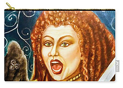 Boudicca  Let Not Our Daughters Be Forgotten Carry-all Pouch