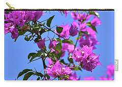 Bougainvillea And Sky Carry-all Pouch