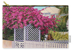 Bougainvillea Crown Carry-all Pouch