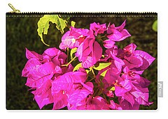 Bougavillea Flower Carry-all Pouch by James Gay