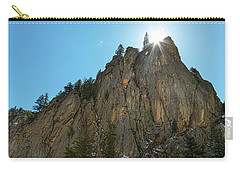 Carry-all Pouch featuring the photograph Boulder Canyon Narrows Pinnacle by James BO Insogna