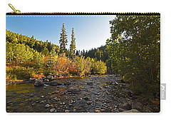 Boulder Colorado Canyon Creek Fall Foliage Carry-all Pouch