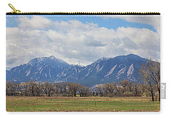 Carry-all Pouch featuring the photograph Boulder Colorado Prairie Dog View  by James BO Insogna