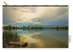 Carry-all Pouch featuring the photograph Boulder County Colorado Calm Before The Storm by James BO Insogna