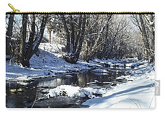 Boulder Creek After A Snowstorm Carry-all Pouch