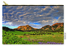 Boulder Spring Wildflowers Carry-all Pouch by Scott Mahon