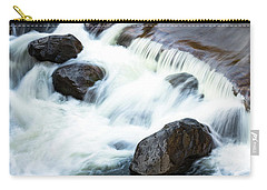Boulders In The Rapids Carry-all Pouch