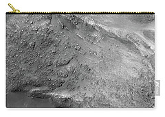 Carry-all Pouch featuring the painting Boulders On A Martian Landslide by Artistic Panda