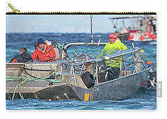 Carry-all Pouch featuring the photograph Bouncing Herring by Randy Hall