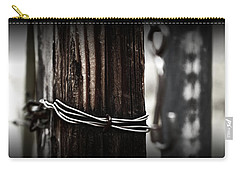 Carry-all Pouch featuring the photograph Bound  by Mark Ross