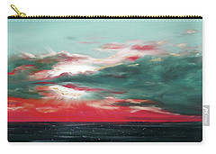 Bound Of Glory - Panoramic Sunset  Carry-all Pouch