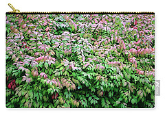 Carry-all Pouch featuring the photograph Bountiful Bush by Ellen Barron O'Reilly