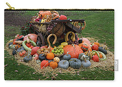 Bountiful Harvest L Carry-all Pouch by Shirley Mitchell